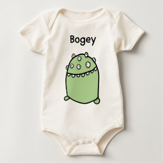 Bogey Monster Organic Baby Creeper Bodysuit