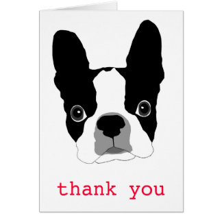 Bogey THANK YOU note card - Customized