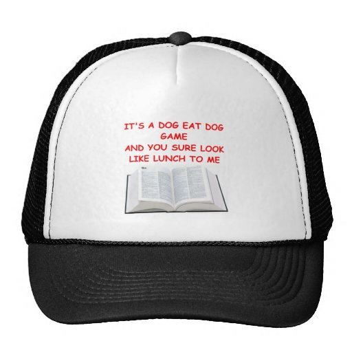 boggle trucker hat