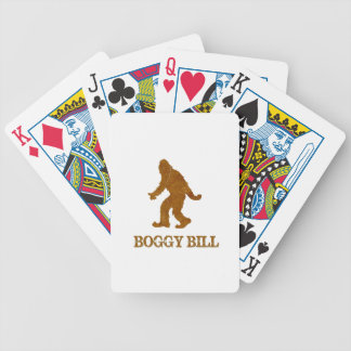 Boggy Bill (Sasquatch) Bicycle Playing Cards