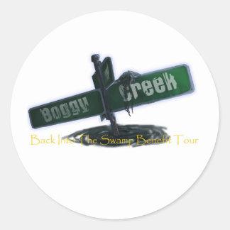 Boggy Creek Classic Round Sticker