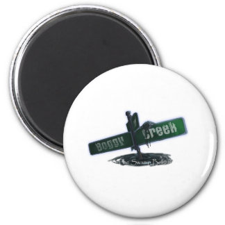 Boggy Creek - Customized 2 Inch Round Magnet