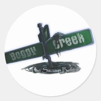 Boggy Creek - Customized Classic Round Sticker