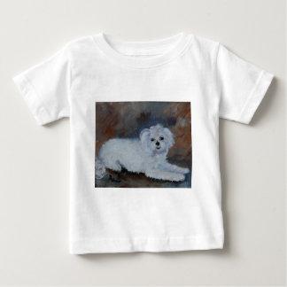 Bogie Pet Portrait Baby T-Shirt