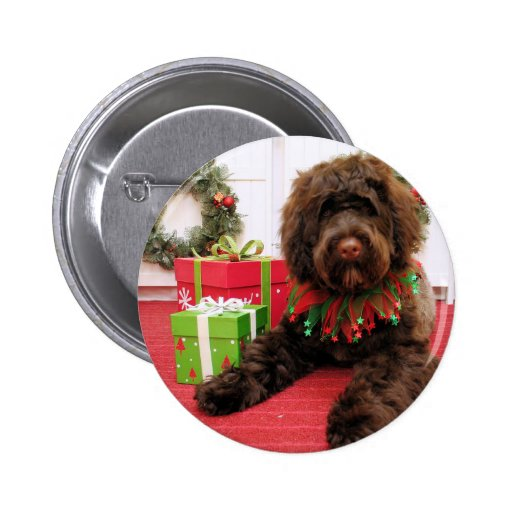 Bogie - Portuguese Water Dog Buttons