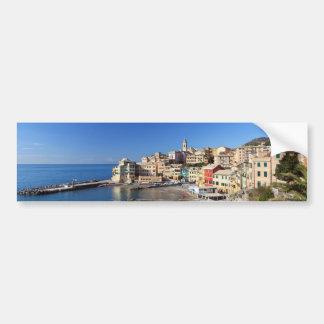 Bogliasco overview Italy Bumper Stickers