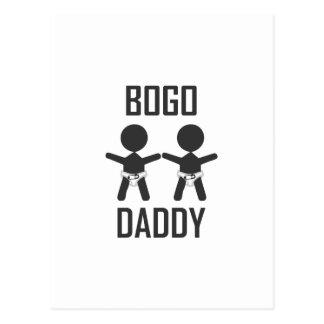 BOGO Daddy Postcard