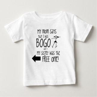 BOGO Kids sister/girl left toddler Baby T-Shirt