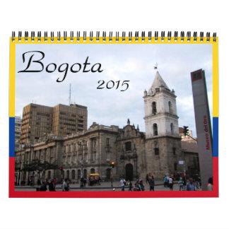 bogotá 2015 calendar