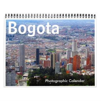 bogota 2018 calendar