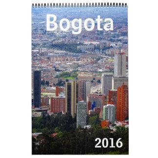 bogota colombia 2016 calendar
