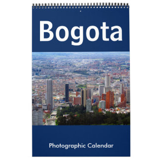 bogota colombia calendar