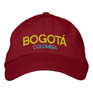 Bogotá Colombia Embroidered Hat