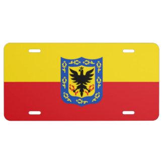 Bogota-Colombia License Plate