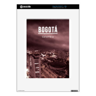 Bogota, Colombia Skin For The iPad