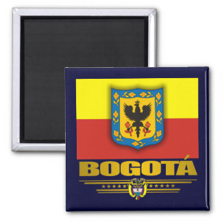 """Bogota Pride"" 2 Inch Square Magnet"