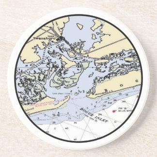 Bogue Inlet Coaster