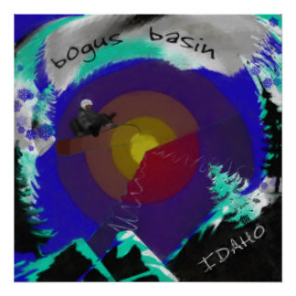 Bogus Basin , Idaho Poster