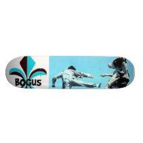Bogus ninja cow skateboard deck