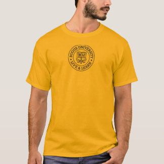 Bogus University Round Seal Logo T-shirt