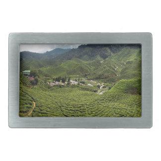 Boh Tea Plantation Rectangular Belt Buckle