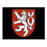 bohemia emblem post card