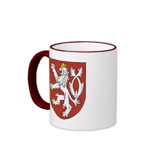 bohemia emblem ringer mug