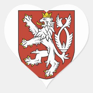 bohemia emblem heart stickers