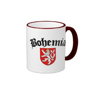 Bohemia Flag 2 Ringer Mug