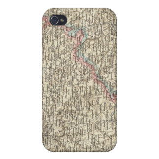 Bohemia, Moravia, austriaco Silesia 2 iPhone 4/4S Carcasa