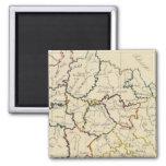 Bohemia, Moravia, austriaco Silesia Imanes Para Frigoríficos