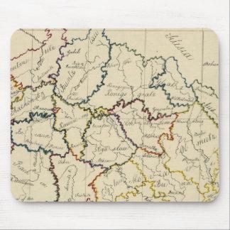 Bohemia Moravia austriaco Silesia Alfombrillas De Raton