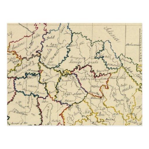 Bohemia, Moravia, austriaco Silesia Tarjeta Postal