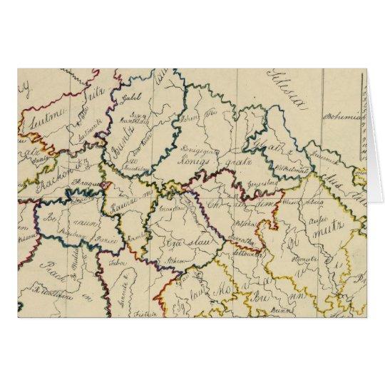 Bohemia, Moravia, Austrian Silesia Card