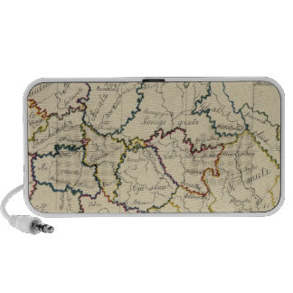 Bohemia, Moravia, Austrian Silesia iPod Speakers