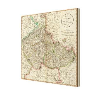 Bohemia, Moravia Impresiones En Lienzo Estiradas