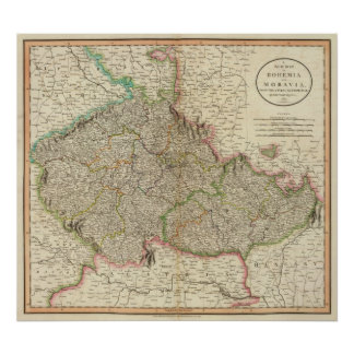 Bohemia, Moravia Póster