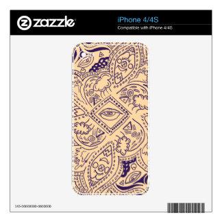 Bohemia Persian Skin For The iPhone 4
