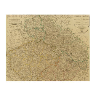 Bohemia, Silesia, Moravia, Lusatia Impresiones En Madera
