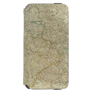 Bohemia, Silesia, Moravia, Lusatia Funda Cartera Para iPhone 6 Watson