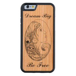 Bohemian Beach Gypsy Dream Big Be Free Carved® Cherry iPhone 6 Bumper Case
