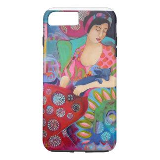 Bohemian Beauty iPhone 7 pl case Colorful Fine Art