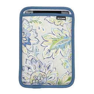 Bohemian Blue Flower iPad Mini Sleeve