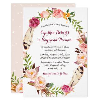 bohemian wedding invitations & announcements | zazzle, Wedding invitations