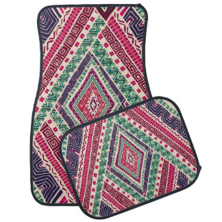 Bohemian Boho MOD Pattern Floor Mat