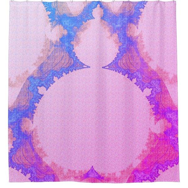 Bohemian_Buddha(c) Miami-Sunset- Bathroom_ Shower Curtain