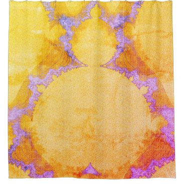 Professional Business Bohemian_Buddha(c) Multi-Colors_ Bathroom_ Shower Curtain