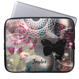 Bohemian Butterfly Laptop Computer Sleeve ~ Bag electronicsbag