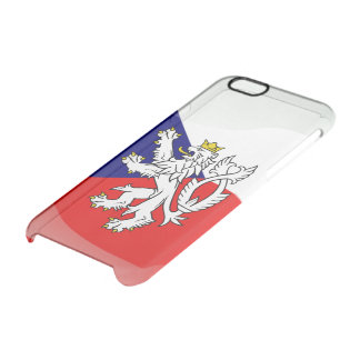 Bohemian Coat of arms Clear iPhone 6/6S Case