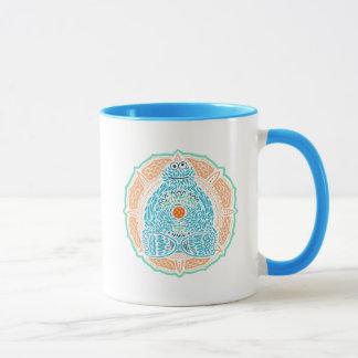 Bohemian Cookie Monster Mug